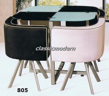 805 Dining Set 4 Seater