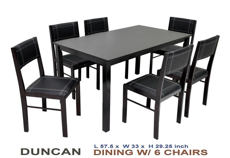 Duncan Dining Set 6 seater ClassicModern : dining set duncan 6 seater venti from www.classicmoderninterior.com size 800 x 552 jpeg 44kB