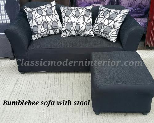 bumblebee sofa with stool php