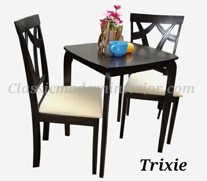 Trixie Dining Set 2 Seater Php 5 800