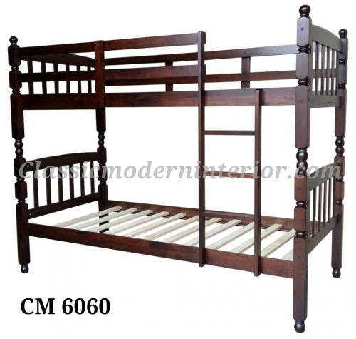 Double deck bed frame classicmodern for Double deck bed images